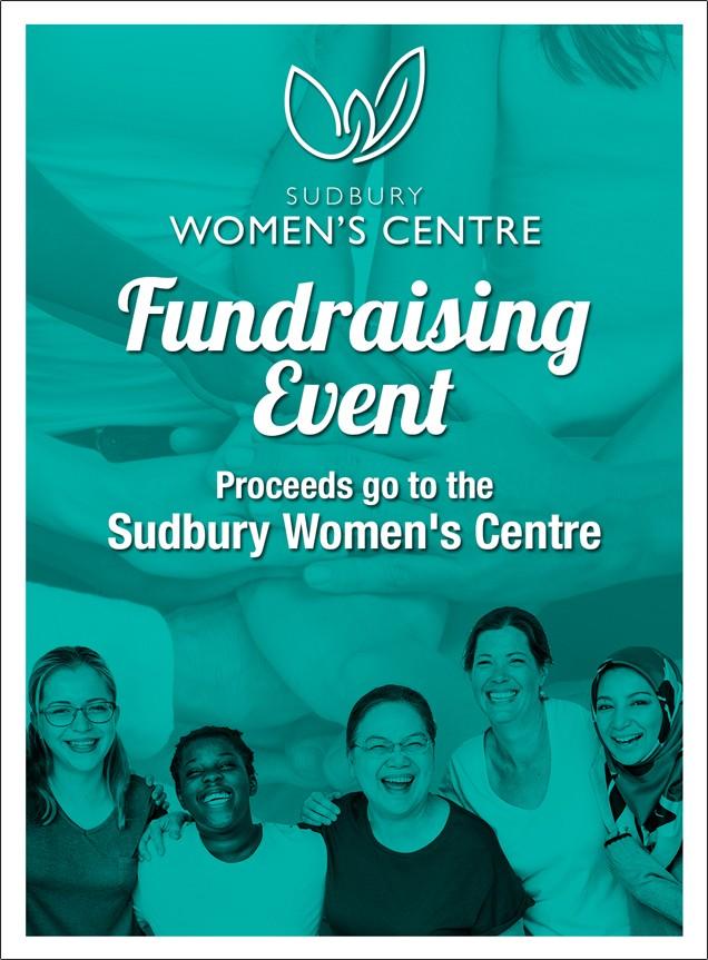 Sudbury Womens Centre Collective donate poster